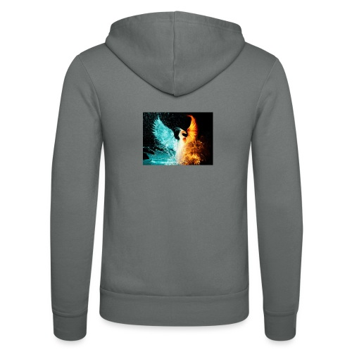 Elemental phoenix - Unisex Hooded Jacket by Bella + Canvas