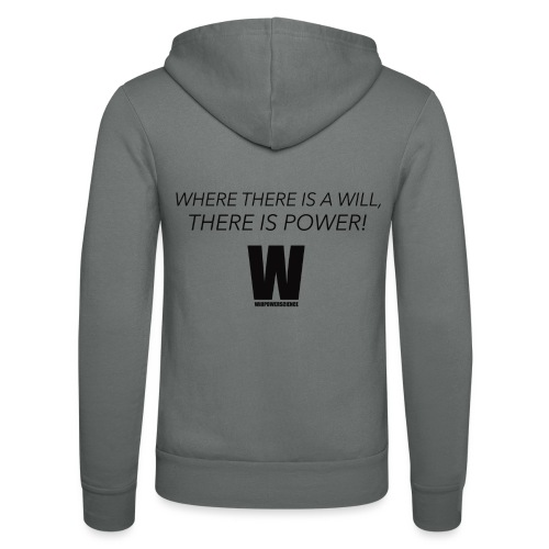Willpower Science - Unisex Hooded Jacket by Bella + Canvas