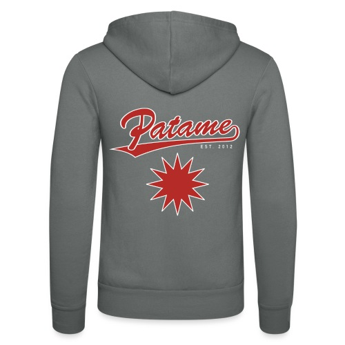 Patame Red Star - Unisex Kapuzenjacke von Bella + Canvas