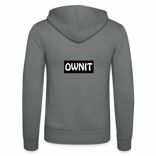 OWNIT logo - Unisex Hooded Jacket by Bella + Canvas
