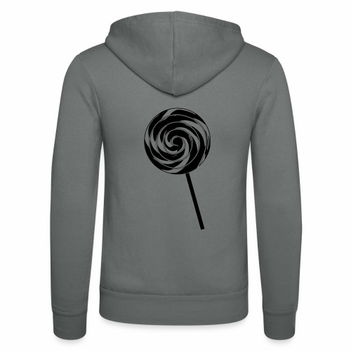 Retro Lolly - Unisex Kapuzenjacke von Bella + Canvas