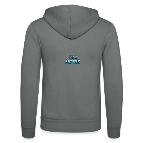 Team futties design - Unisex Hooded Jacket by Bella + Canvas