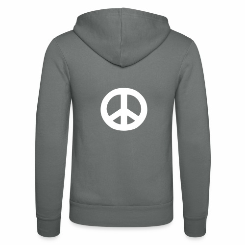 Peace - Unisex Hooded Jacket by Bella + Canvas