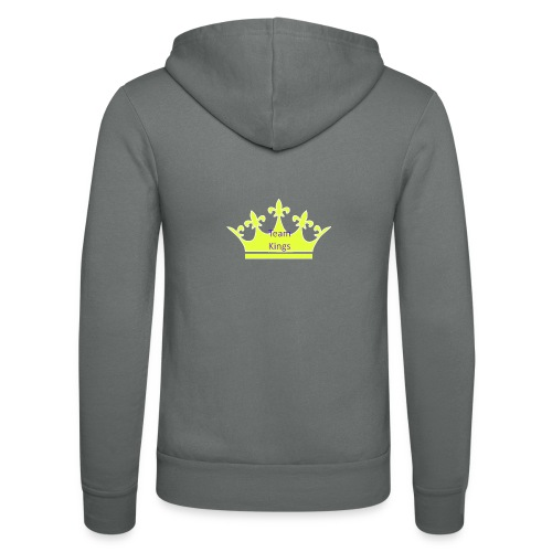 Team King Crown - Unisex Hooded Jacket by Bella + Canvas