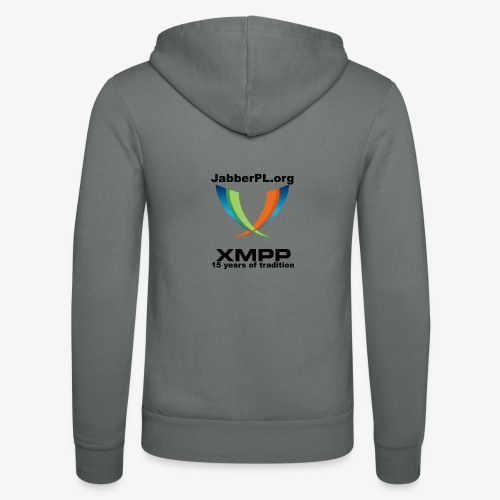 JabberPL.org XMPP - Unisex Hooded Jacket by Bella + Canvas