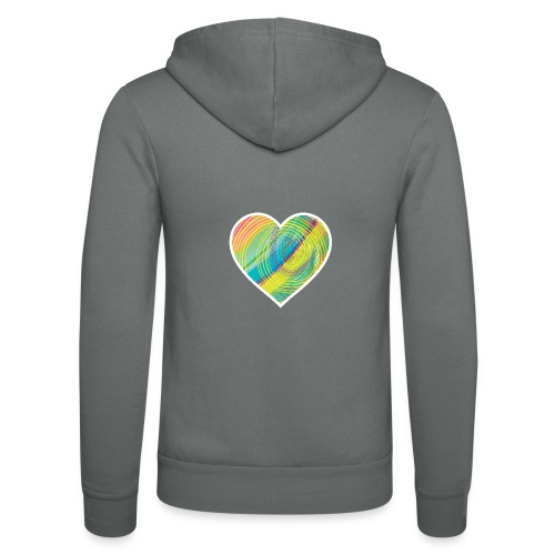 Spread the Love - Unisex Hooded Jacket by Bella + Canvas