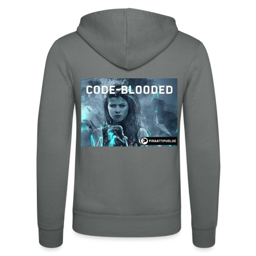 Code-blooded - Unisex Bella + Canvas -hupputakki
