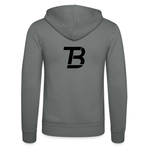 brtblack - Unisex Hooded Jacket by Bella + Canvas