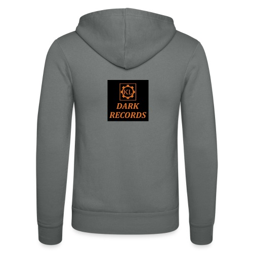 KL D R Logo Zahnr Orange - Unisex Kapuzenjacke von Bella + Canvas