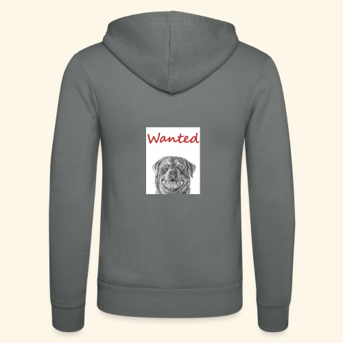 WANTED Rottweiler - Unisex Hooded Jacket by Bella + Canvas