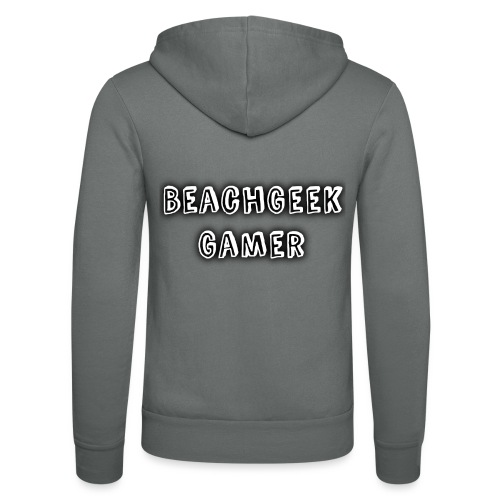 Classic BeachGeek - Unisex Hooded Jacket by Bella + Canvas