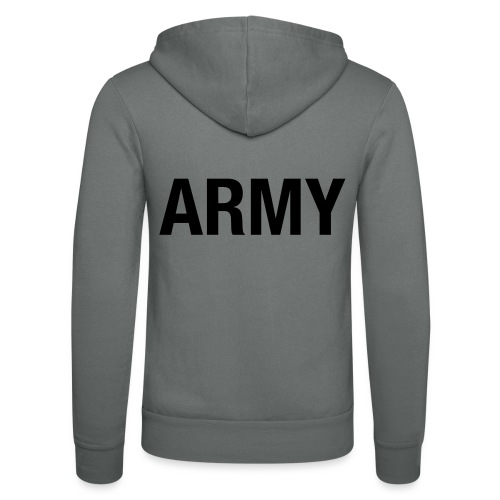 ARMY - Unisex Hooded Jacket by Bella + Canvas