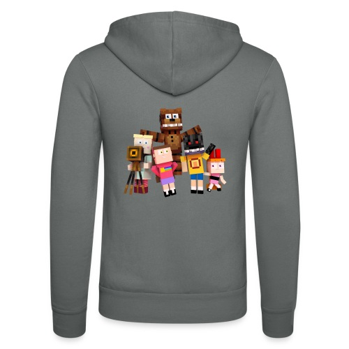Withered Bonnie Productions - Meet The Gang - Unisex Hooded Jacket by Bella + Canvas