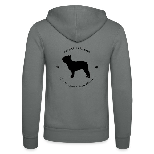French bulldog - Unisex Bella + Canvas -hupputakki