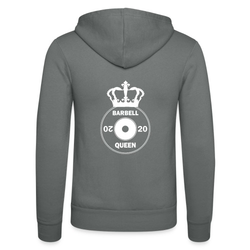 The Barbell Queen - Unisex Hooded Jacket by Bella + Canvas