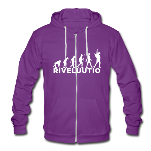 Riveluutio - Unisex Bella + Canvas -hupputakki