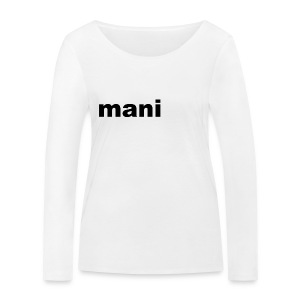 mani vrouwen t-shirt met lande mouwen - Vrouwen bio shirt met lange mouwen van Stanley & Stella