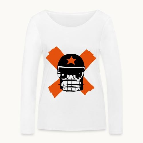 Motard Micky Biker - T-shirt manches longues bio Stanley & Stella Femme