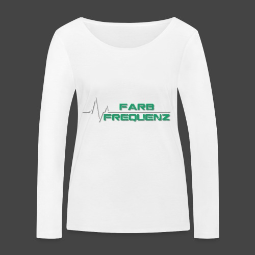 FarbFrequenz - Logo - Frauen Bio-Langarmshirt von Stanley & Stella