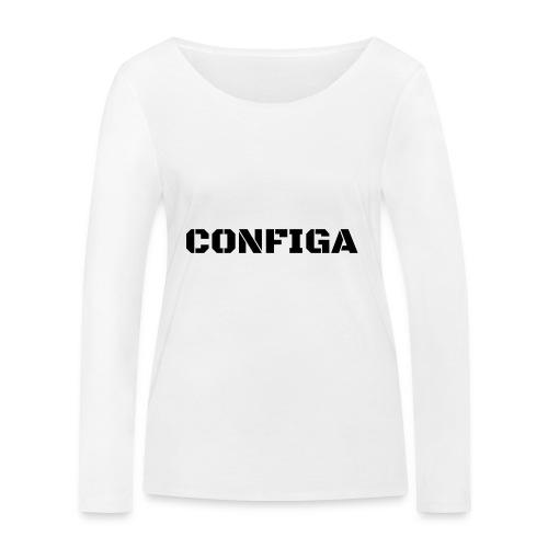 Configa Logo - Women's Organic Longsleeve Shirt by Stanley & Stella