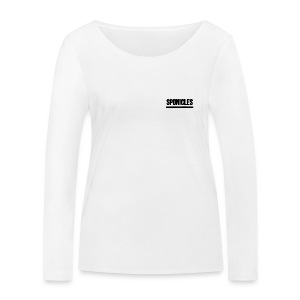 Sponicles Signature Design! - Women's Organic Longsleeve Shirt by Stanley & Stella