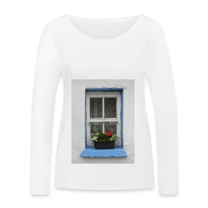 Cashed Cottage Window - Women's Organic Longsleeve Shirt by Stanley & Stella