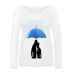 Love under the umbrella - Vrouwen bio shirt met lange mouwen van Stanley & Stella