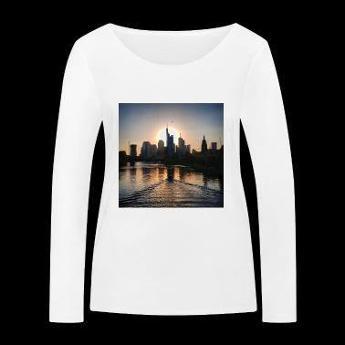 Frankfurt - Ekologiczna koszulka damska z długim rękawem Stanley & Stella