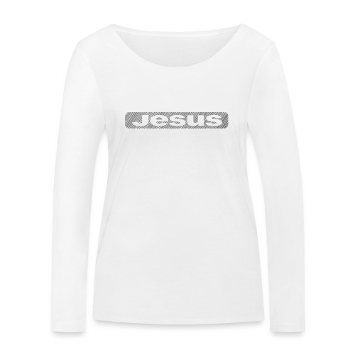 Jesus - Frauen Bio-Langarmshirt von Stanley & Stella