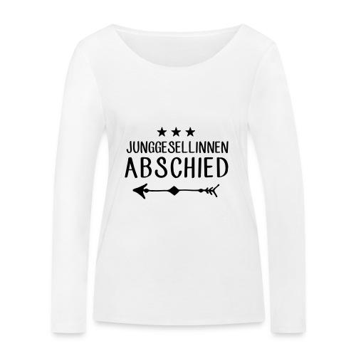 Junggesellinnen Abschied - JGA T-Shirt Team Braut - Frauen Bio-Langarmshirt von Stanley & Stella