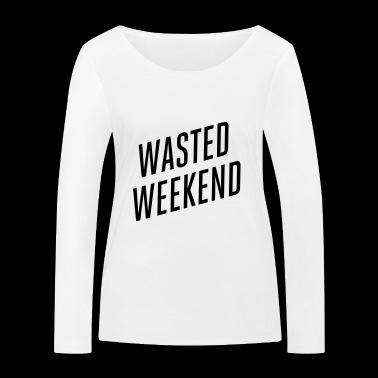 weekend - Ekologiczna koszulka damska z długim rękawem Stanley & Stella