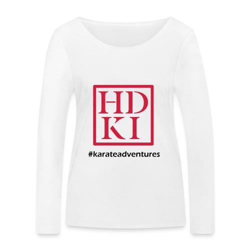 HDKI karateadventures - Women's Organic Longsleeve Shirt by Stanley & Stella