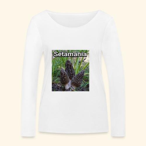 Colmenillas setamania - Camiseta de manga larga ecológica mujer de Stanley & Stella