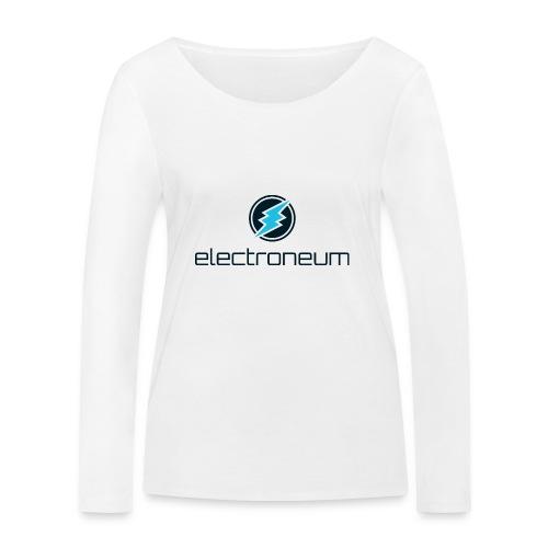 Electroneum - Women's Organic Longsleeve Shirt by Stanley & Stella