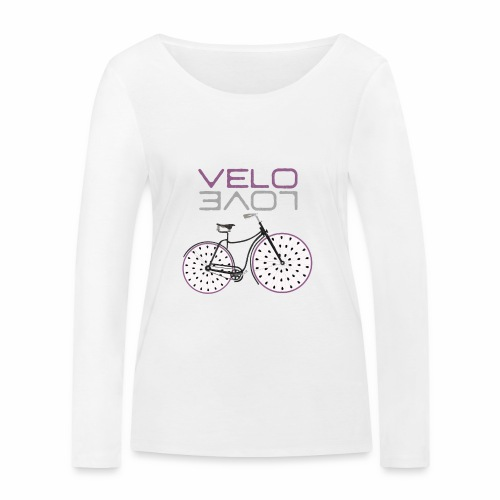 Pitaya Bike Shirt Velo Love Shirt Radfahrer Shirt - Frauen Bio-Langarmshirt von Stanley & Stella