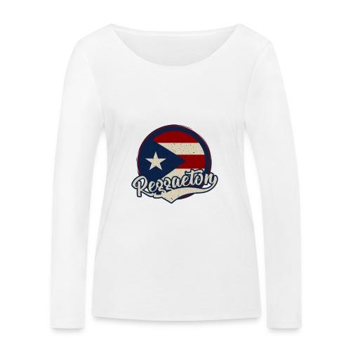 Reggaeton Music - Puerto Rico - Frauen Bio-Langarmshirt von Stanley & Stella