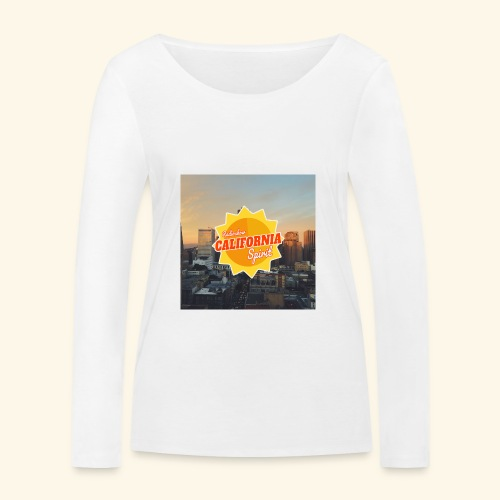 California Spirit City - T-shirt manches longues bio Stanley & Stella Femme