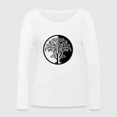 015 - Arbre - T-shirt manches longues bio Stanley & Stella Femme