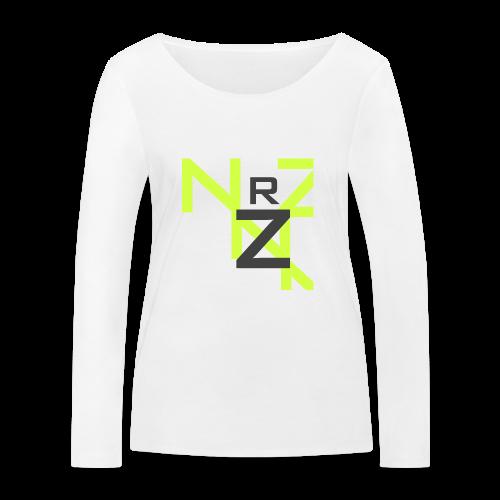 Nörthstat Group™ Clear Transparent Main Logo - Women's Organic Longsleeve Shirt by Stanley & Stella