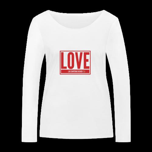 Love Las Canteras - Camiseta de manga larga ecológica mujer de Stanley & Stella