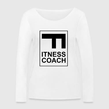 Fitness - Fitness Coach - Ekologiczna koszulka damska z długim rękawem Stanley & Stella