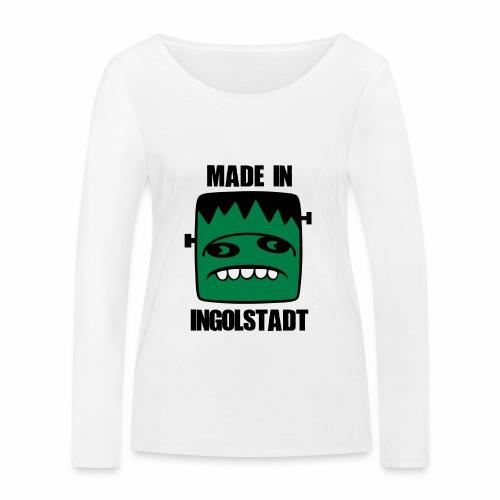 Fonster made in Ingolstadt - Frauen Bio-Langarmshirt von Stanley & Stella