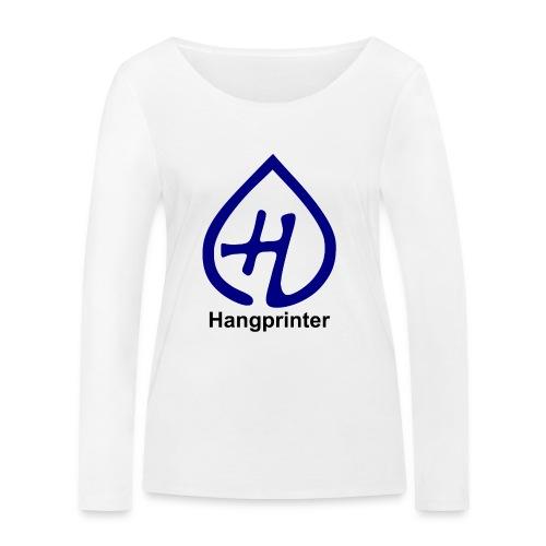 Hangprinter logo and text - Ekologisk långärmad T-shirt dam från Stanley & Stella