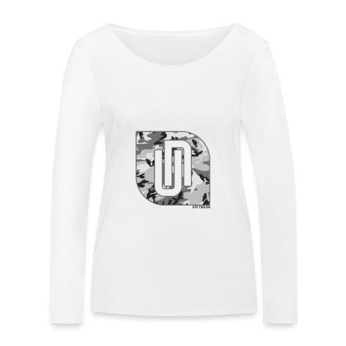 Unitwear – Camo UN Tshirt - Vrouwen bio shirt met lange mouwen van Stanley & Stella