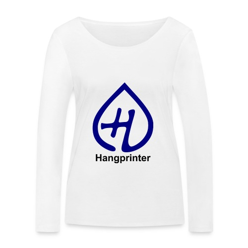 Hangprinter logo and text - Ekologisk långärmad T-shirt dam från Stanley & Stella