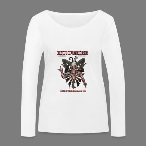 legion_line_up_final_ - Vrouwen bio shirt met lange mouwen van Stanley & Stella