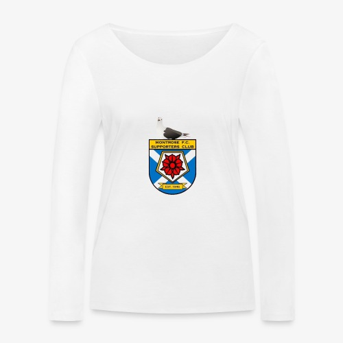 Montrose FC Supporters Club Seagull - Women's Organic Longsleeve Shirt by Stanley & Stella