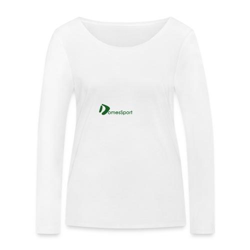 Logo DomesSport Green noBg - Frauen Bio-Langarmshirt von Stanley & Stella