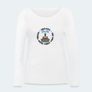 LUG Perugia - Maglietta a manica lunga ecologica da donna di Stanley & Stella