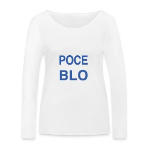 Tee shirt POCE BLO - T-shirt manches longues bio Stanley & Stella Femme